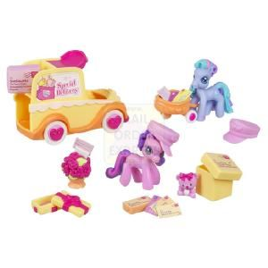 Hasbro My Little Pony Ponyville Birthday Afternoon  Every day the ponies set out to explore Ponyville Everywhere they go they find smiles sunshine and l  http://www.comparestoreprices.co.uk/dolls/hasbro-my-little-pony-ponyville-birthday-afternoon.asp