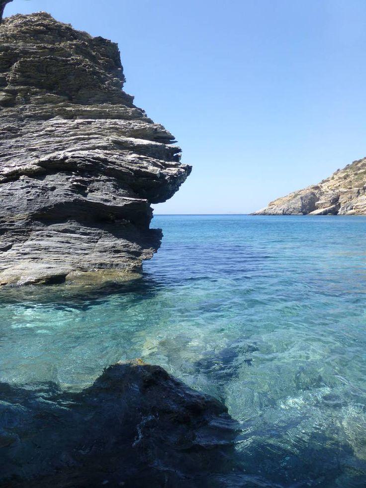 Mouros Beach, Amorgos island, Greece