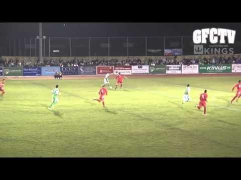 Guernsey FC 3, Walsall Wood 1: highlights
