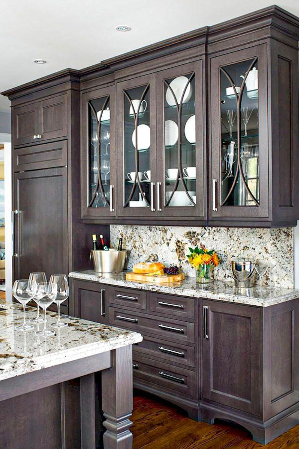 50 Fantastic Kitchen Cabinets And Kitchen Design Ideas Page 29 Of 50 Ladiesways Com Women Hairstyles Blog Dark Brown Kitchen Cabinets Brown Kitchen Cabinets Best Kitchen Cabinets