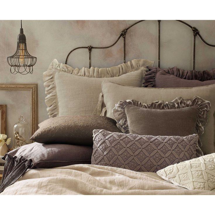 Wamsutta 174 Vintage Washed Linen Pillow Sham In 2019 Linen