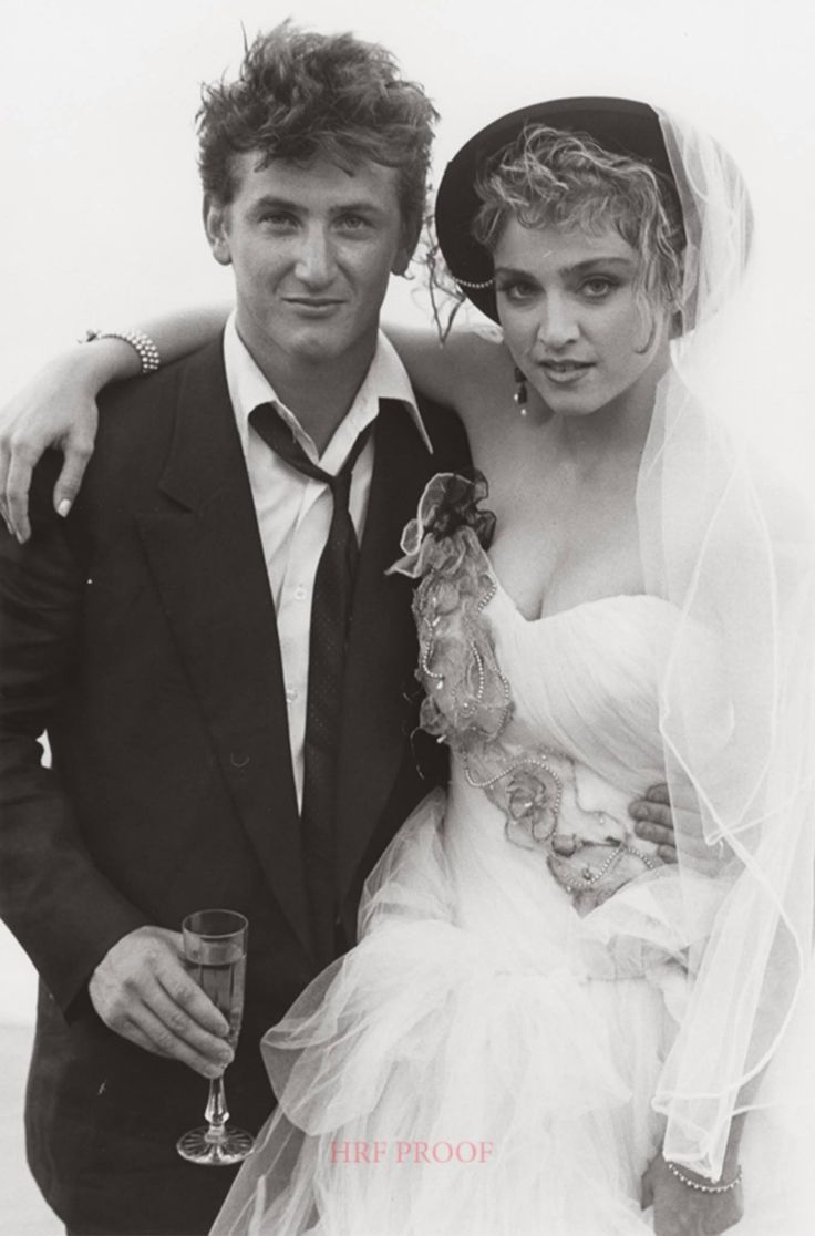 Wedding Sean Penn and Madonna