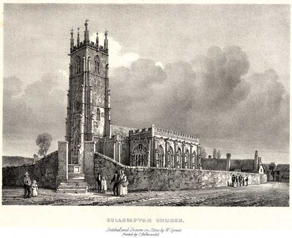 Cullompton Church - with extract re Cullompton from Devon by W G Hoskins (1954)