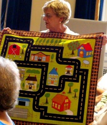 Car/City Quilt - Museum Quilt Guild: July 2010