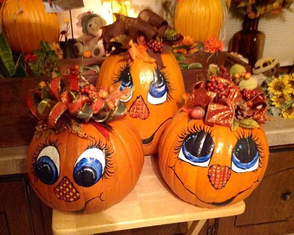 Images Of Painted Pumpkin Faces