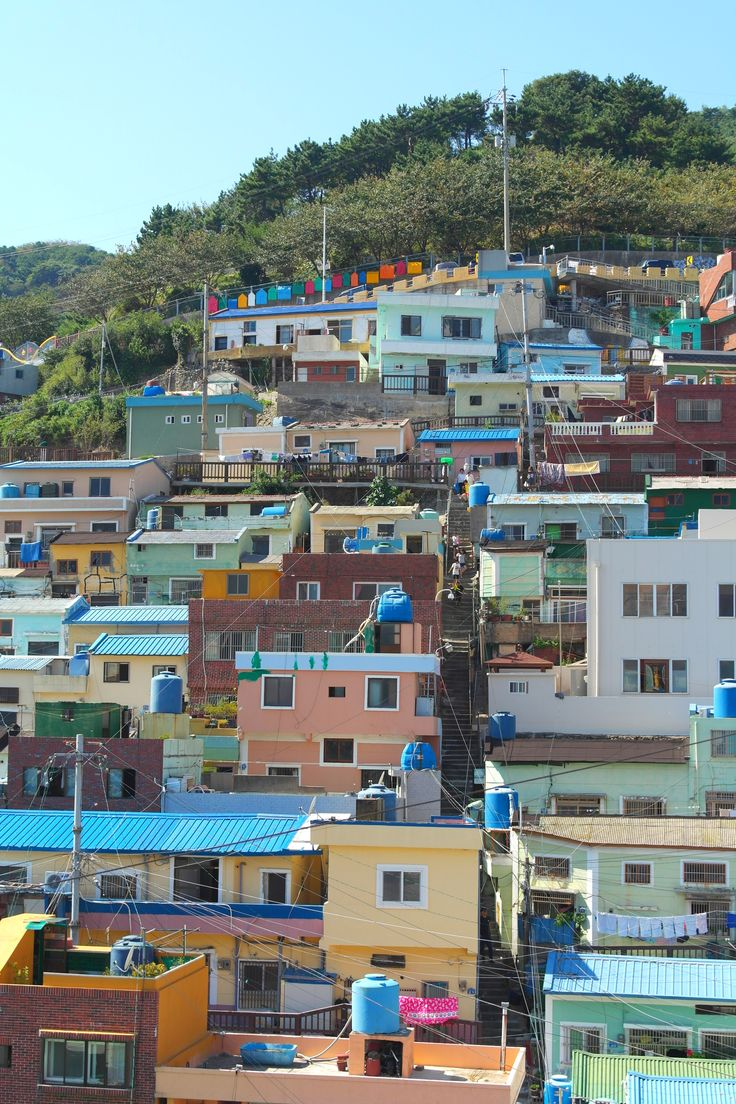 148 Stairs to see the Stars, In Gamcheon Culture Village (감천마을) Busan, South Korea