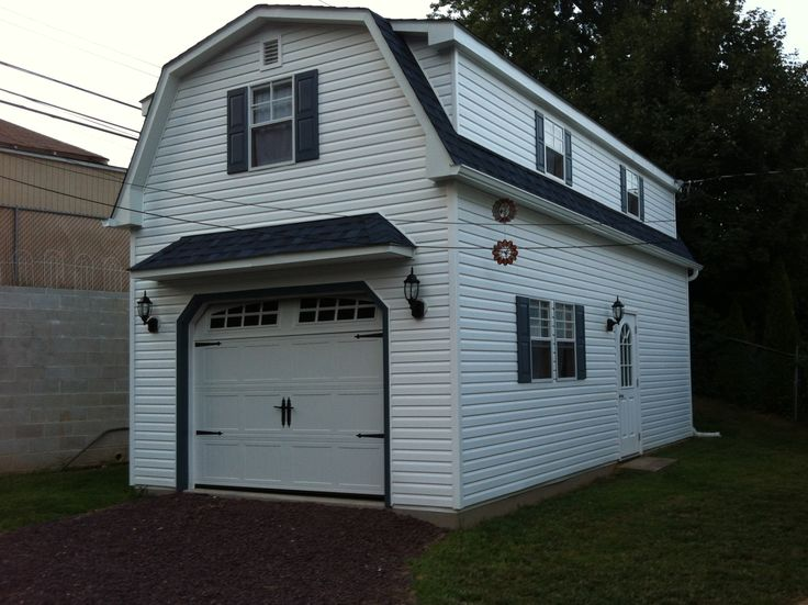 17 best images about two story single car garage for 2 story 2 car garage cost
