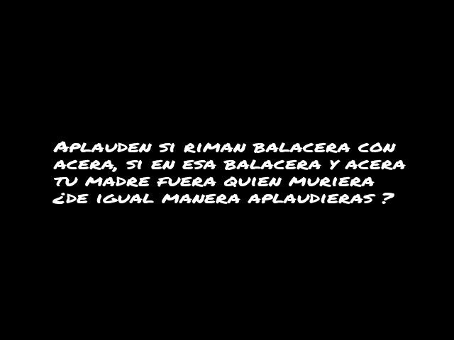 Blu buen rap venezolano vasilate la buena música