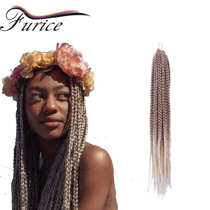 107 best box braiding hair images on pinterest braided hair aliexpress buy 24inch box braids synthetic crochet hair extensions braiding hair with crochet pmusecretfo Image collections