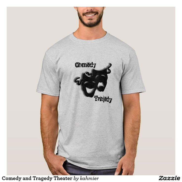 Comedy and Tragedy Theater T-Shirt