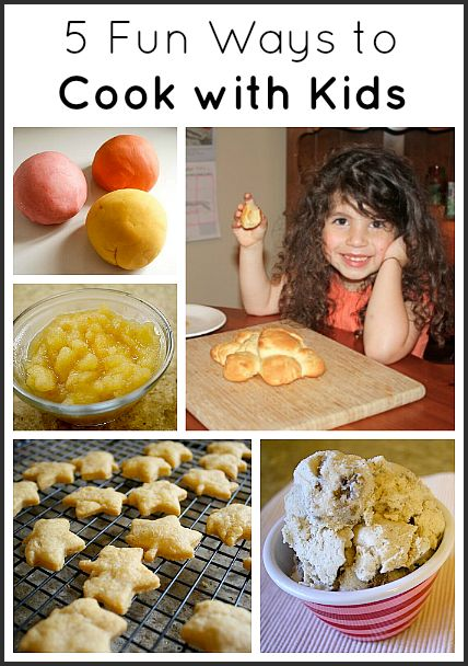 5 Fun Ways to Cook with Kids~ Buggy and Buddy