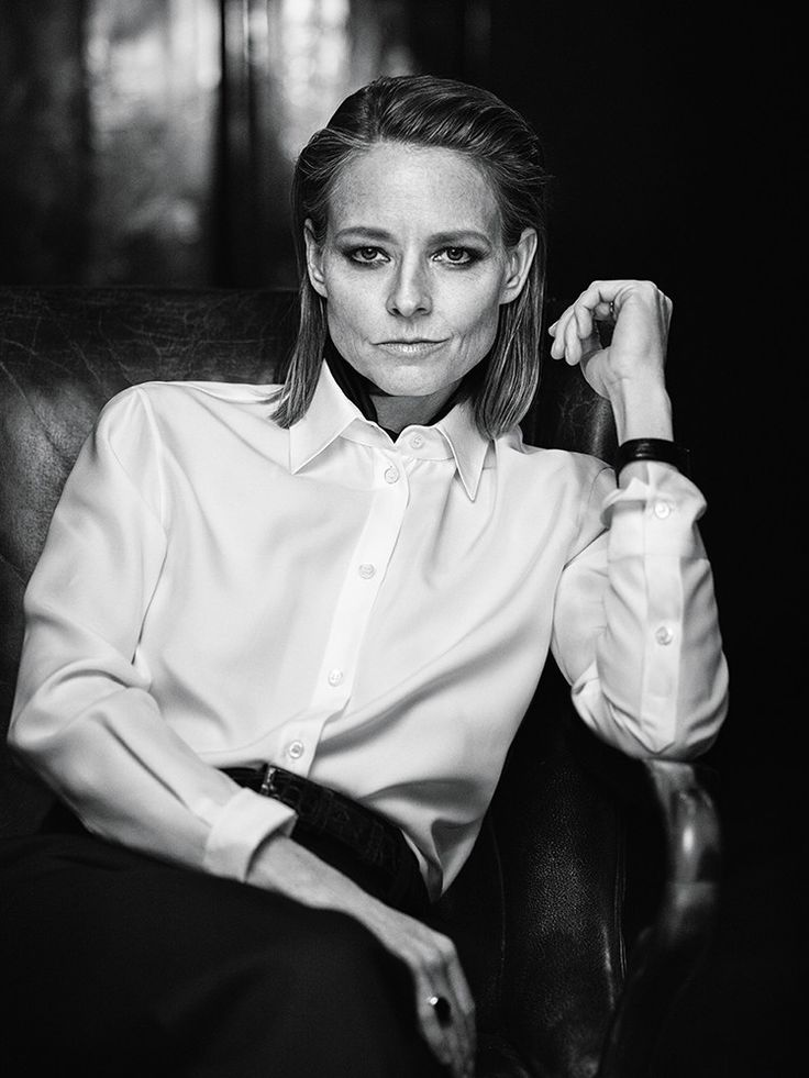 Jodie Foster, photographed by Mikael Jansson for INTERVIEW, March 2016