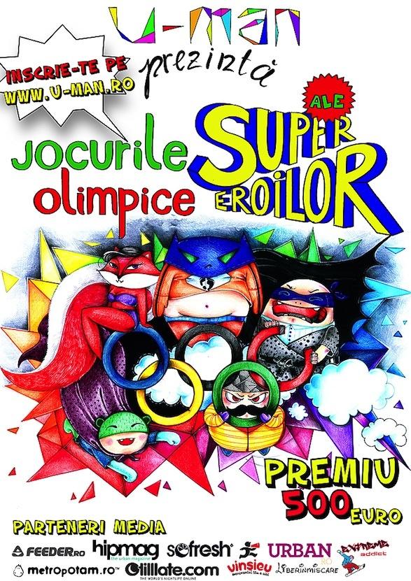 Jocurile Olimpice ale Super Eroilor