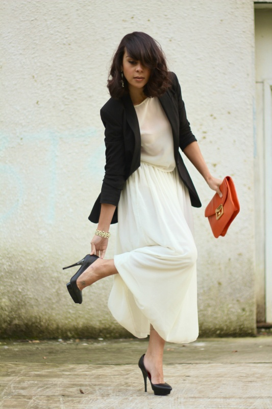 The Long White Skirt Maxi Skirt Finding My Style
