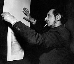 Carlo Scarpa ♦ Italian architect, influenced by the materials, landscape, and the history of Venetian culture, and Japan.