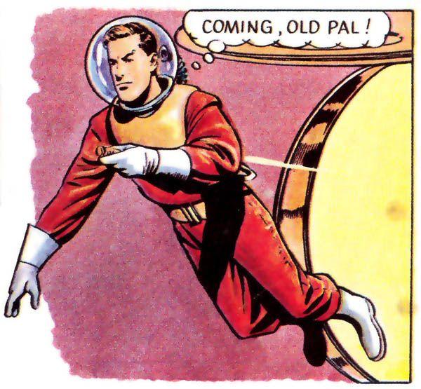 Dan Dare Spacesuit