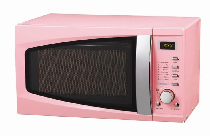 Image detail for -kitchen appliances › How to Find Pink Microwave for Retro Kitchen ...