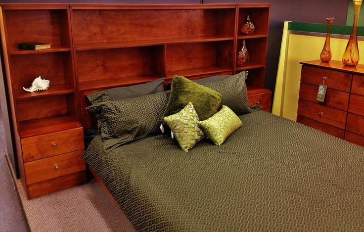 Amazing Australian Made product, beautiful warm wood, great for a book lover or decoration collector to add a little extra to the bedroom with the spacious bed head. Adds ambience, passion, and elegance to the bedroom.