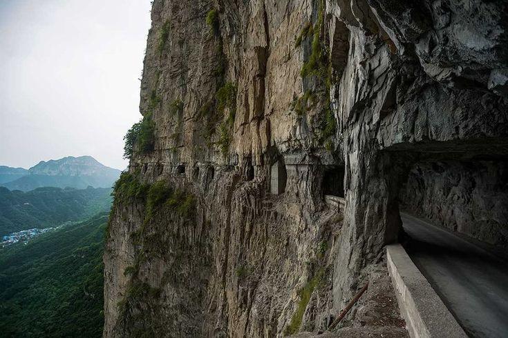 guoliang-tunnel-road-china