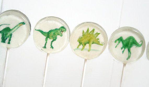 Jurassic Dinosaur Party Favor Lollipops Jurassic by SmashCandies