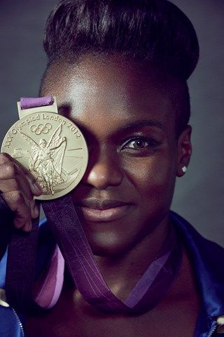 Olympic Boxer Nicola Adams by Matthew Brookes. British Vogue August 2016.