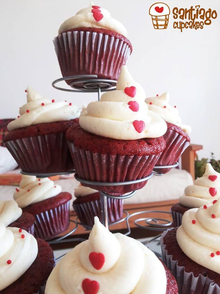 Nuestros clásicos cupcakes de red velvet!