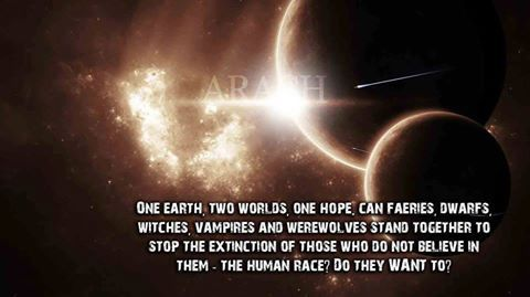 Can the unseen, otherworldly beings stand together to stop the extinction of those who do not believe in them - the human race, do they WANT to? www.readarach.com #arach #fantasy #beings #extinction #human #help