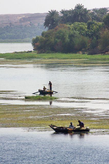 Pêcheurs sur le Nil