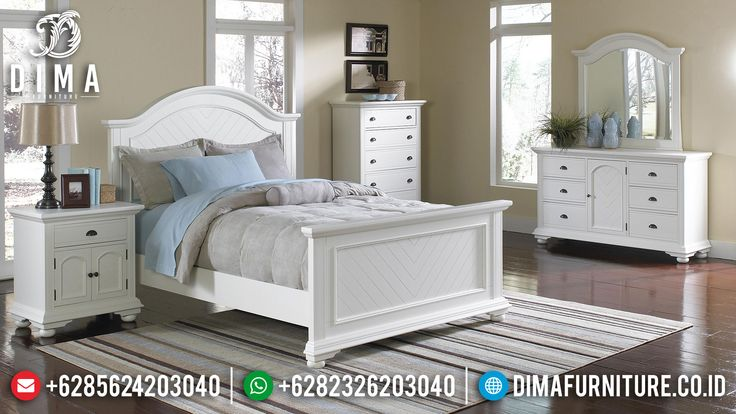 Set Kamar Tidur Anak Laki-Laki Modern Minimalis Terbaru Jepara DF-0347