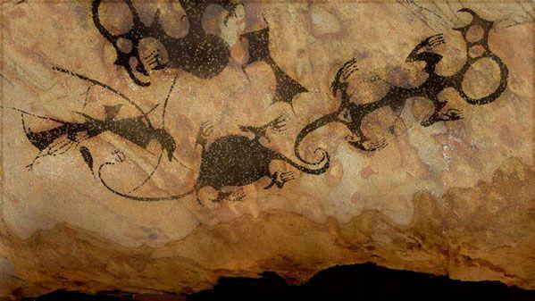 Early Maori Rock Art