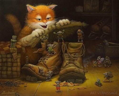 Скоро зима - картина А.В.Маскаева