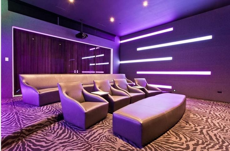 Modern Home Theater Style