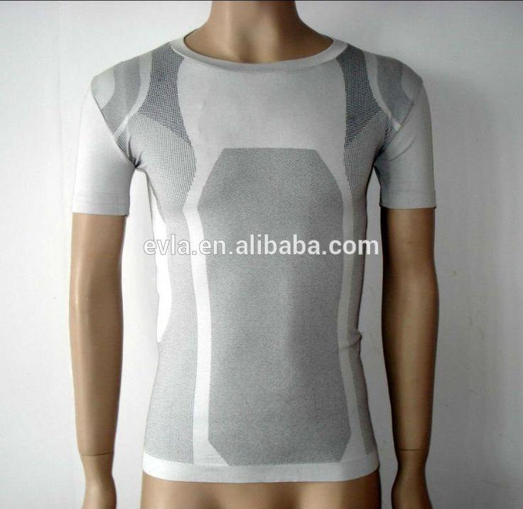 2015 Fashion kousen groothandel mannen naadloze t-shirt wiht foto/apparel/dye…