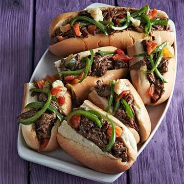 Chicago-Style Italian Beef - FamilyCircle.com