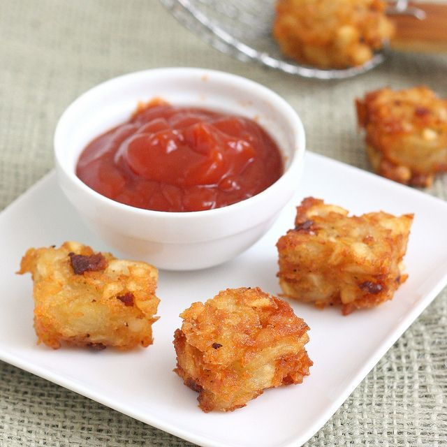 Homemade Bacon-Ranch Tater Tots by @Tracey Wilhelmsen (Tracey's Culinary Adventures)