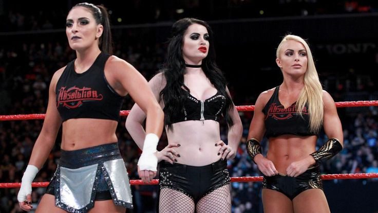 Paige's WWE Teammates: Who Are Sonya Deville & Mandy Rose Screen Rant › wwe-paige-sonya-deville