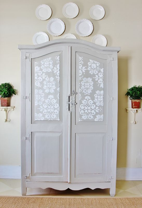 452 best chalk paint ideas images on pinterest for Master bedroom set with armoire