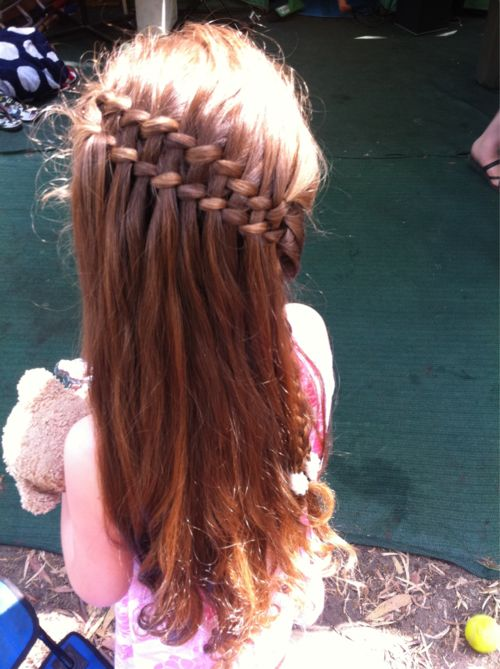 I've got to get better at doing this braid.: Goto Hairstyles, Sweet, Waterfalls, Hair Styles, Double Waterfall Braids, Braid Hairstyles, Cool Braids, Hairstyles Hair