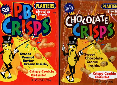 PB Crisps i remember getting a couple packs of these every time my dad stopped at the gas station.