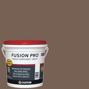 Custom Building Products Fusion Pro $54.97 #52 Tobacco Brown 1 Gal. Single Component Grout FP521-2T at The Home Depot - ((This is our grout for the wood look tile))