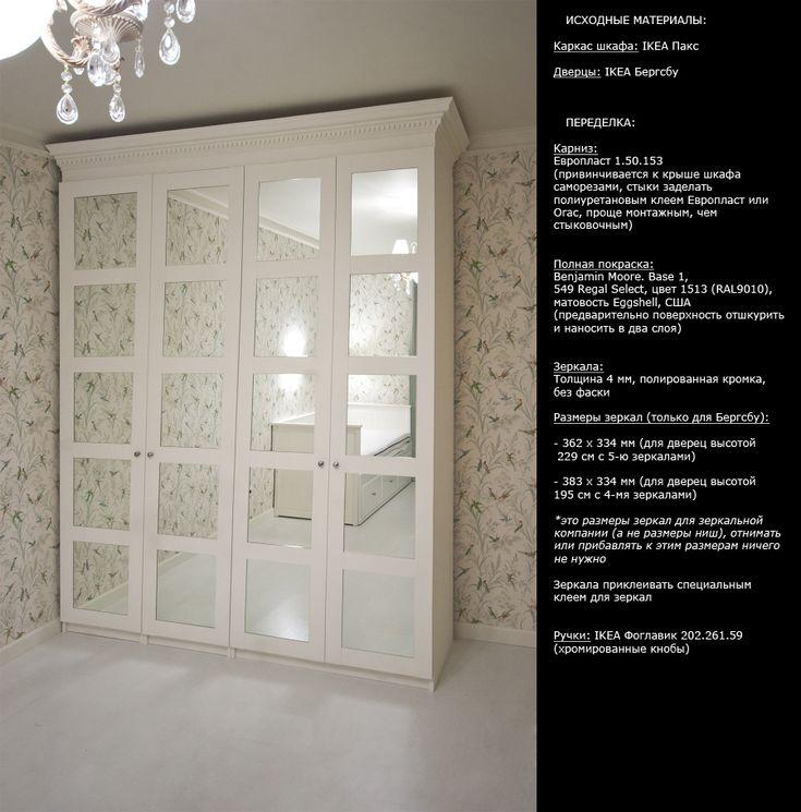 переделка шкафа Ikea Pax в дизайнерский вариант и другие фото - Гостиная - Форум о строительстве, ремонте и дизайне интерьера