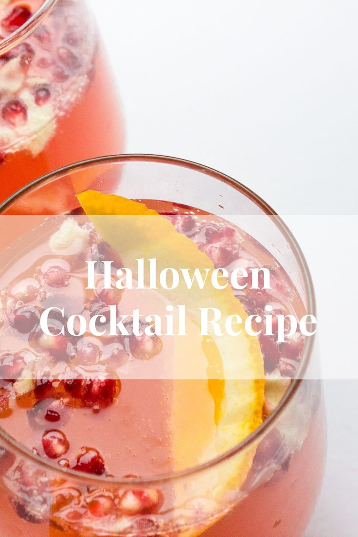 Simple Halloween Cocktail that is really easy to make. Includes Gin, Campari and Juice.