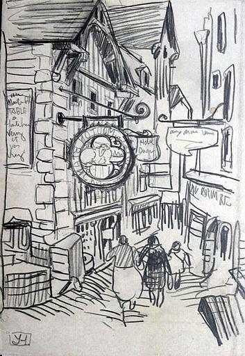 Yvonne Jean-Haffen - La rue principale