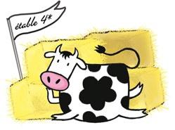 Les 2 Vaches s'engagent pour le bien-être des vaches laitières et ont mis en place 8 critères de bien-être animal.  6) L'indice de confort  En s'assurant que les vaches peuvent s'allonger comme elles le souhaitent, ce critère permet de vérifier que l'étable est suffisamment propre et spacieuse.