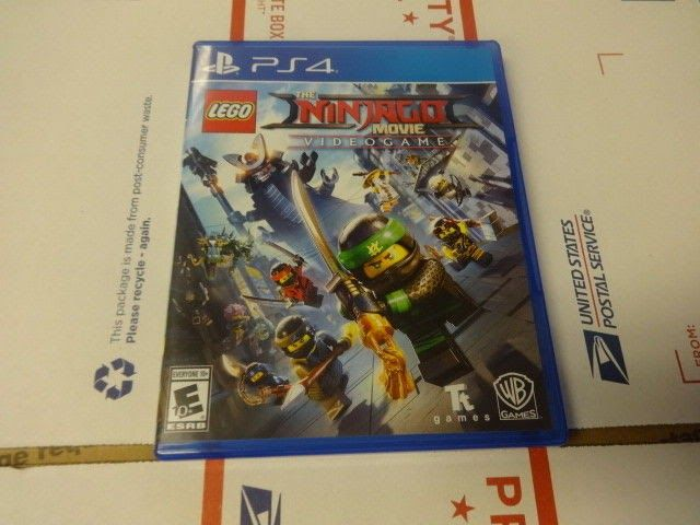 LEGO Ninjago Movie Video Game (Sony PlayStation 4 2017)