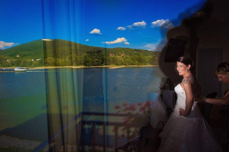 Hochzeit mit Blick auf den Petersberg