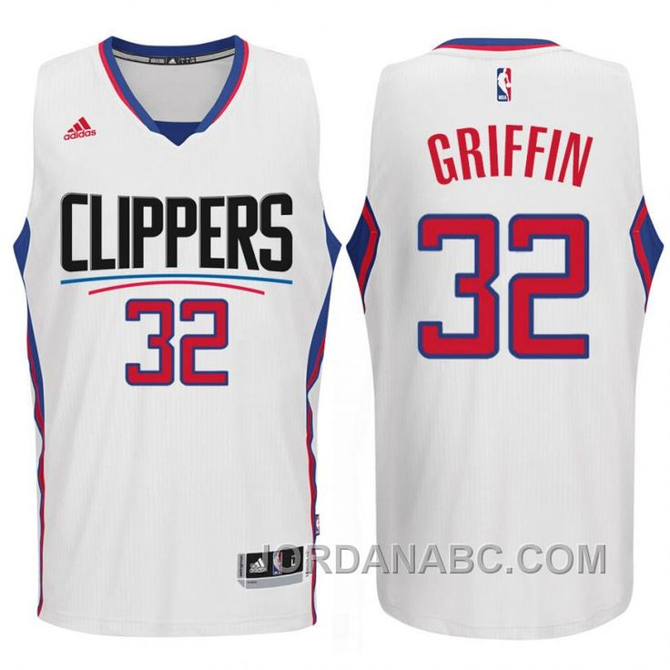bc4b1caac Los Angeles Clippers 2015 New Season Logo  32 Blake Griffin Swingman White  Jersey