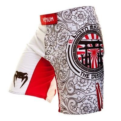 "Venum Lyoto Machida ""Torii Legacy"" MMA Fight Shorts - Ice"