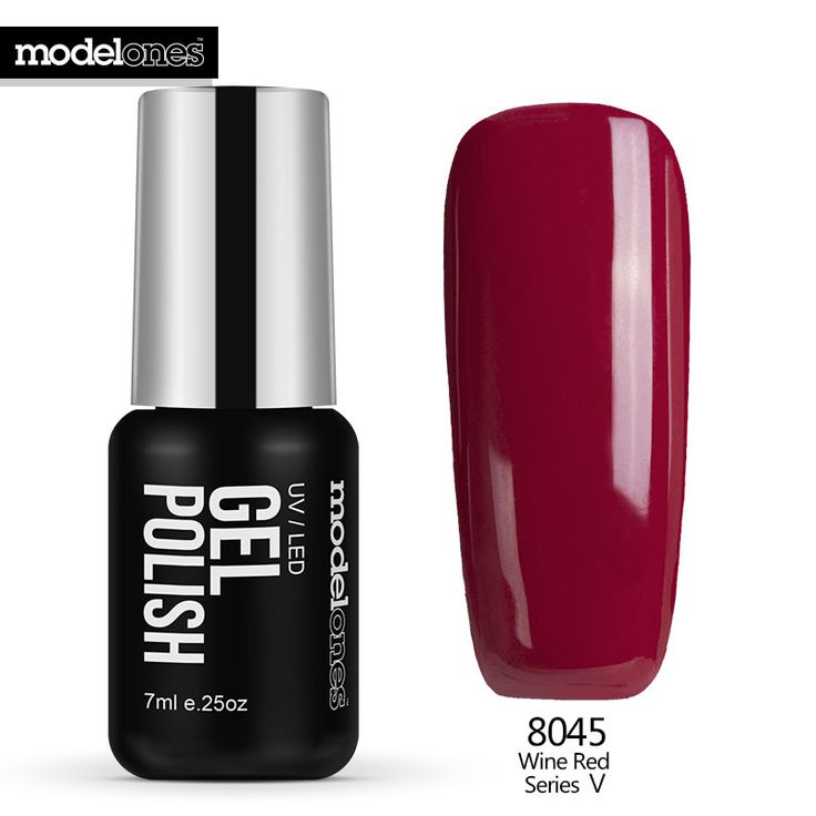 Modelones 7ML Hot Sale Color Nail Gel Polish UV Lamp Nail Gel Lacquer French Red Nail Polish Soak Off Gel For Christmas Gift  Price: 1.43 USD