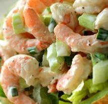 Cucumber Celery Shrimp Chopped Salad (Dukan Diet PV Cruise Recipe) | Diet Plan 101Dietplan-101.com